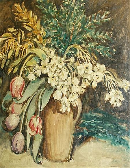Reproductions of Anne Goldthwaite's Art- Still Life with Tulips