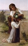 William Bouguereau Oil Paintings Reproduction of A La Fontaine
