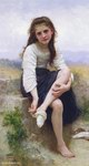 William Bouguereau Oil Paintings Reproduction of Avant Le Bain