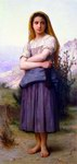 William Bouguereau Oil Paintings Reproduction of Bergere 1886