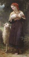 William Bouguereau Oil Paintings The Shepherdess 1873