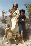 William Bouguereau Oil Paintings Homere Et Son Guide