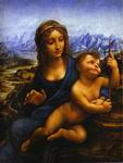 Reproduction of Madonna with the Yarnwinder 1501
