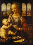 Reproduction of The Madonna of the Carnation 1478-80