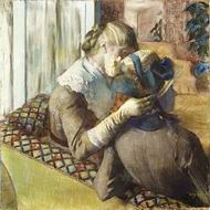 Reproduction of At the Milliner's 1881