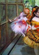 Reproduction of Ballet Dancers in Butterfly Costumes 1880