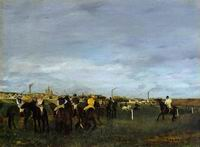 Reproduction of Before the Race 1871-1872