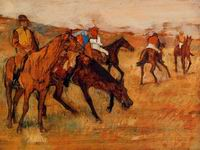 Reproduction of Before the Race 1882-1884