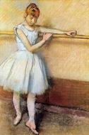 Reproduction of Dancer at the Barre 1880