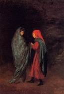 Reproduction of Dante and Virgil at the Entrance to Hell