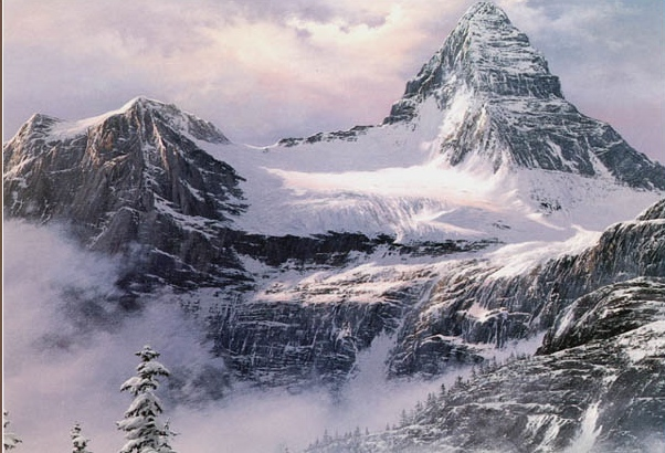 Reproductions of Fred Buchwitz's Mount Assiniboine