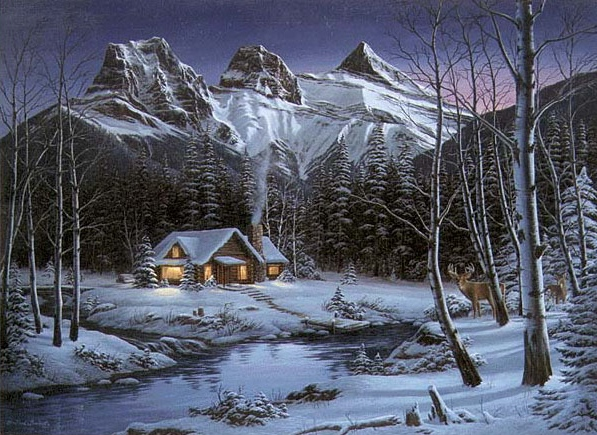 Reproductions of Fred Buchwitz's Winter Solitude