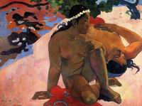 Paul Gauguin art Aha oe Fell (aka What Are You Jealous) 1892