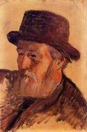 Reproduction of Portrait of Isidore Gauguin 1884