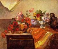 Reproduction of Pots and Bouquets 1886