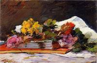 Reproduction of Paul Gauguin painting Bouquet of Flowers 1882