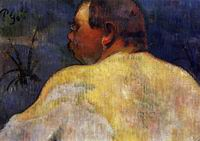 Reproduction of Paul Gauguin paintings art Captain Jacob 1888
