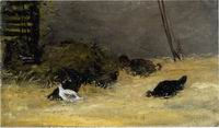 Reproduction of Paul Gauguin paintings art Chicken Coup