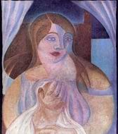 Reproduction of Girl 1922