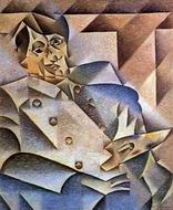 Reproduction of Portrait of Picasso 1912