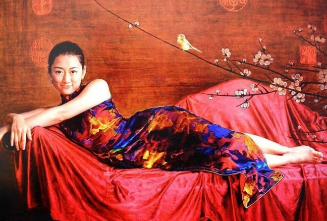 Reproductions of Guan Zeju paintings Contemporary Chinese art