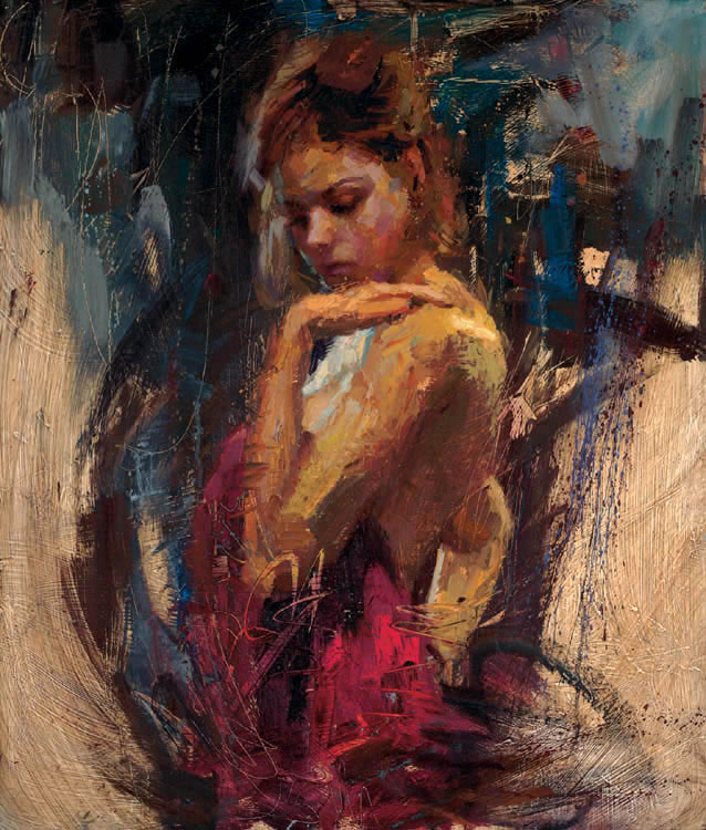 Reproductions of Henry Asencio's paintings Adoration