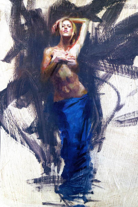 Reproductions of Henry Asencio's paintings, Azure