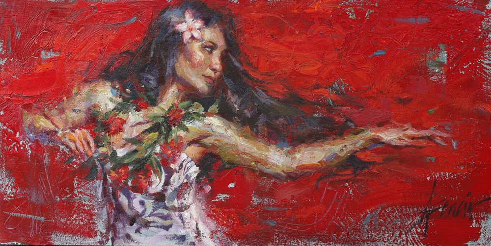 Reproductions of Henry Asencio's paintings Rhythm of the Island