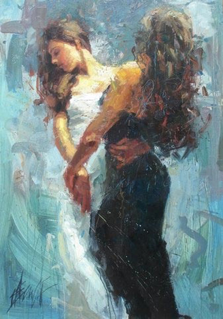 Henry Asencio's paintings, Celebration reproductions of painting