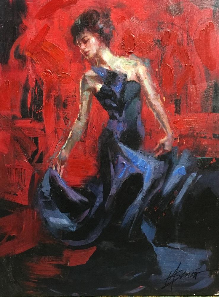 Reproductions of Henry Asencio's paintings the dancer