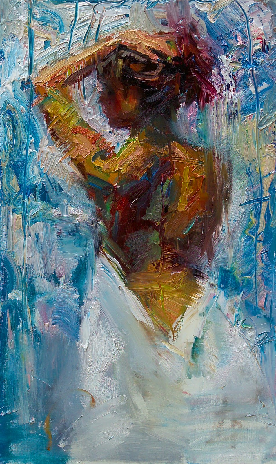 Reproductions of Henry Asencio's oil paintings,Purity
