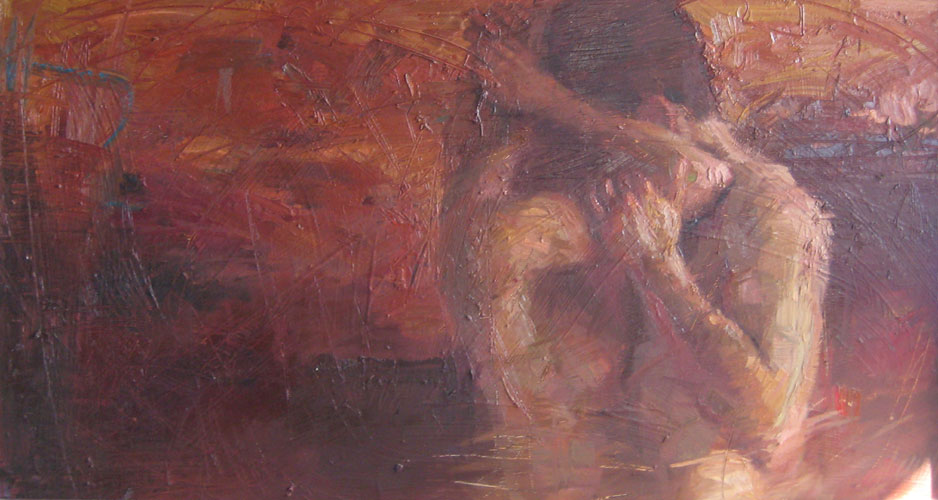 Reproductions of Henry Asencio's oil paintings,lovers embrace