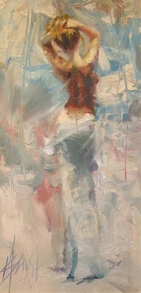 Reproductions of Henry Asencio's tranquil paintings
