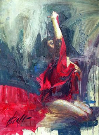 Henry Asencio's painting victory reproductions of paintings