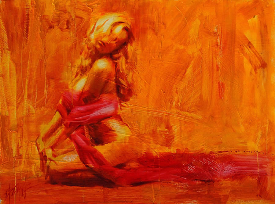 Reproductions of Henry Asencio's golden aura