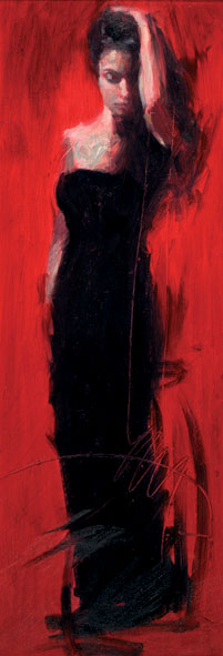 Reproductions of Henry Asencio's scarlet beauty