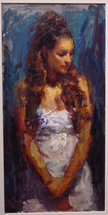 Reproductions of Henry Asencio's painting artwork Introspection