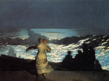 Reproductions of Winslow Homers Paintings A Summer Night 1890