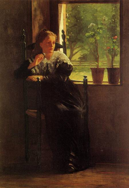 Reproductions of Winslow Homer's paintings At the Window 1872