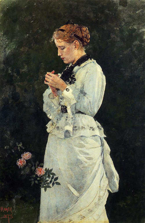 Reproductions of Winslow Homer's paintings Portrait of a Lady
