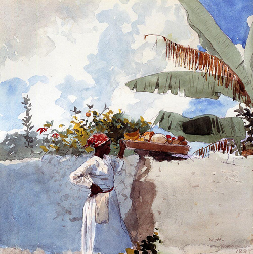Reproductions of Winslow Homer's paintings Rest