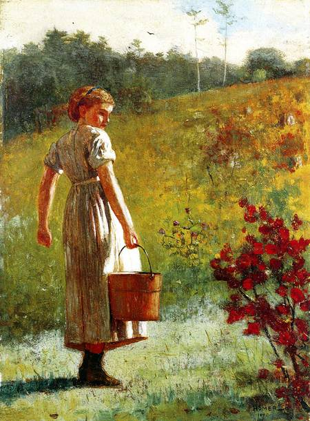 Reproductions of Winslow Homer's paintings Returning from the S