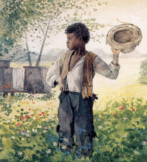 Reproductions of Winslow Homer's paintings The Busy Bee