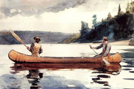 Reproductions of Winslow Homers Paintings Young Ducks 1897