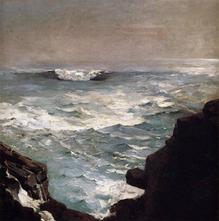 Reproductions of Winslow Homer's paintings Cannon Rock 1895