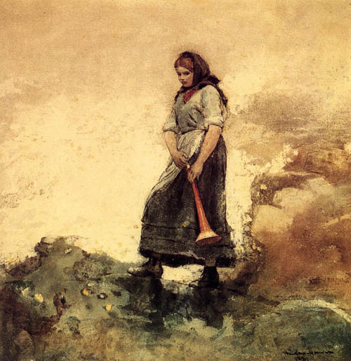 Reproductions of Winslow Homer's paintings Daughter of the Coas