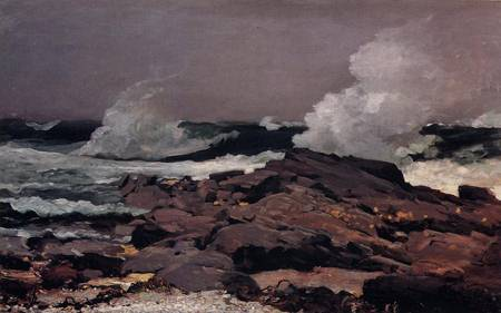 Reproductions of Winslow Homers Paintings Eastern Point Prout Ne