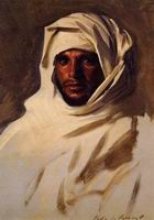 Reproductions of John Singer Sargenti's A Bedouin Arab 1891