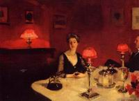 Reproductions of John Singer Sargenti's art A Dinner Table at N