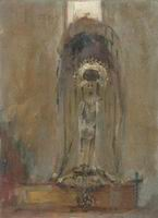 Reproductions of John Singer Sargenti's art A Spanish Madonna